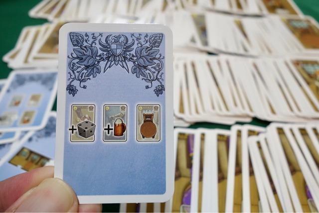 拡張モジュール用のカード写真