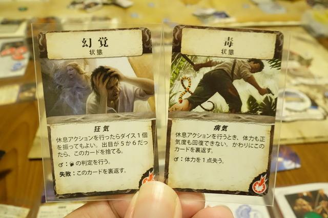 幻覚と毒のカード