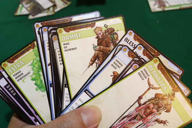 クイックスタート用カードの中身の写真