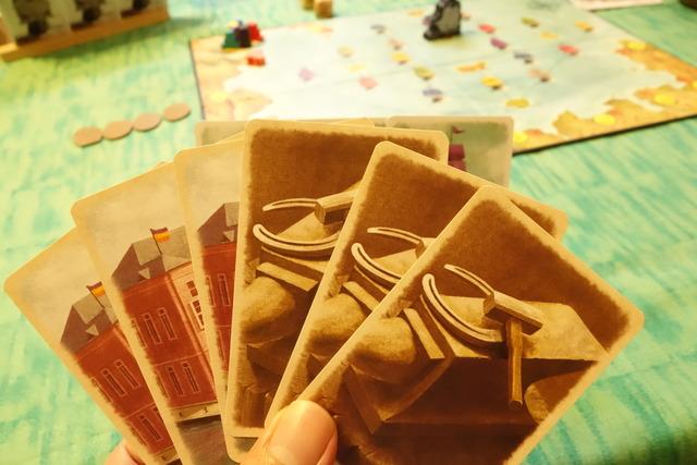 商館カードと馬蹄カード