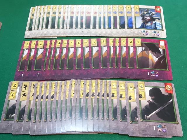 使者カードなどの写真