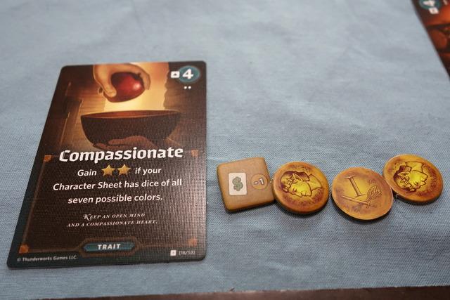Compassionateのカード