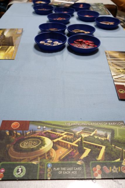 バビロンの空中庭園のプレイヤーボード写真