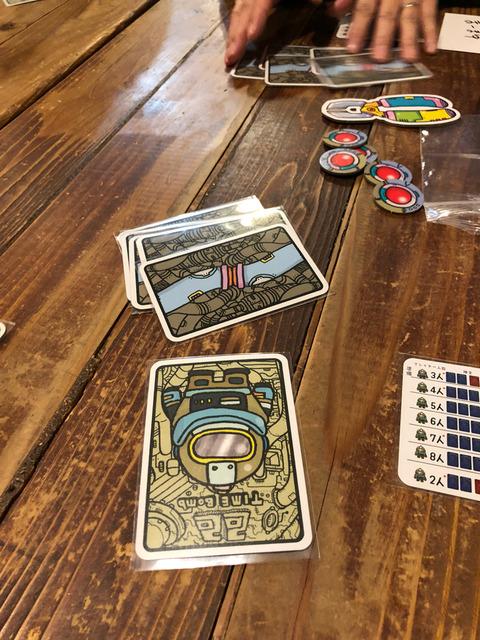 陣営カード1枚と配線カード5枚