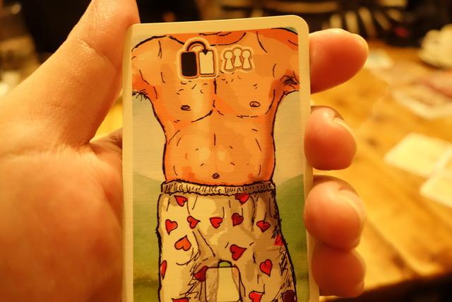 ランスロットの胴体カード