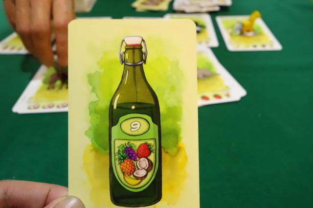 フルーツジュースカード写真
