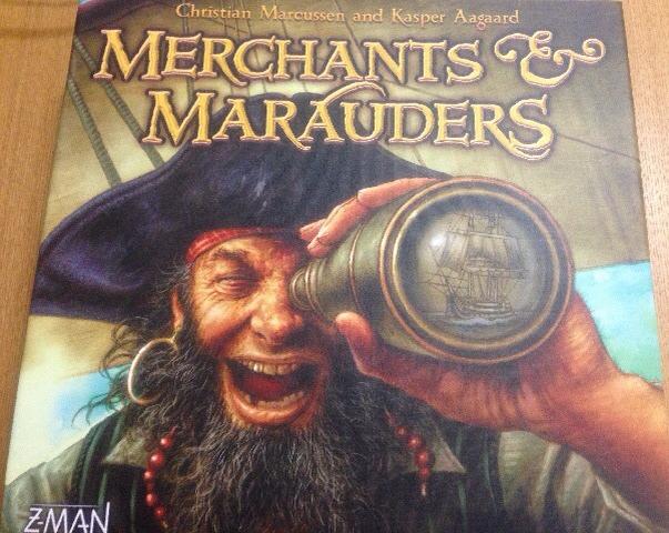 ボードゲーム『海賊と商人』パッケージ