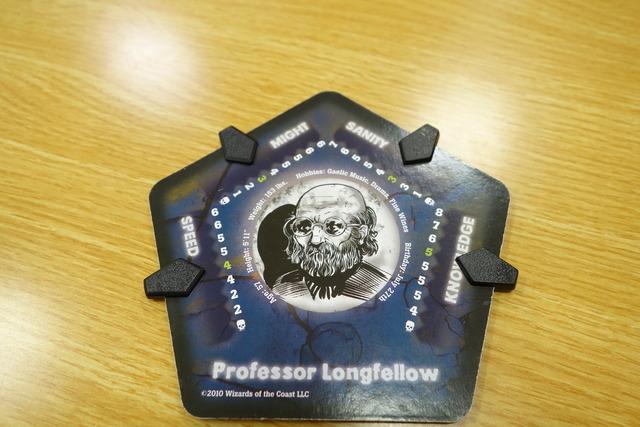 ロングフェロー教授のボード写真