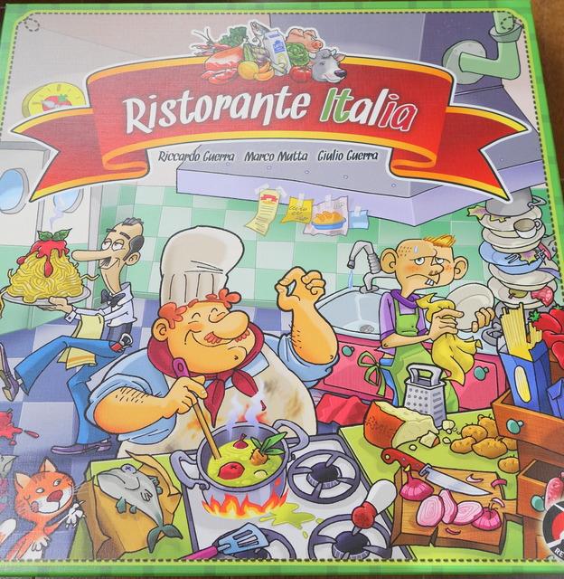 リストランテイタリアのパッケージ