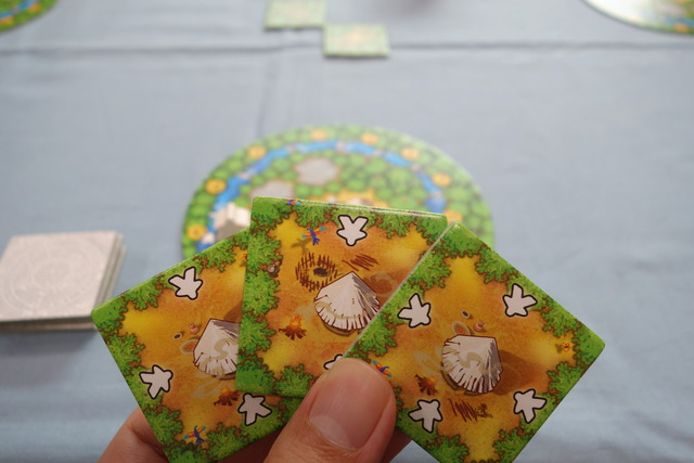ボードゲーム『カカオ』のタイル