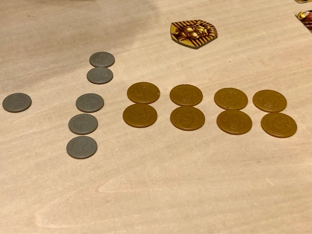 46金分のコインの写真