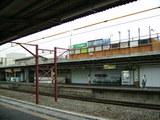 拝島駅五日市線ホーム