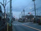 昭和通り2五鉄跡を横切る