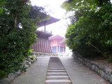 大日堂への道