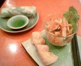 ニャーベトナム・サラダと春巻