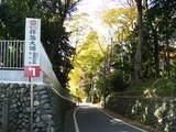 拝島大師の坂