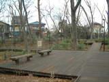 上水公園ベンチ