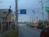昭和通り4清泉中学校交差点