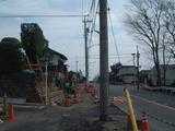 石垣つくり奥多摩街道