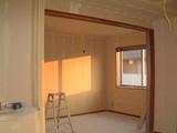 D棟2月15日リビングから寝室を見る
