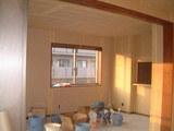 D棟2月15日寝室からリビングを見る