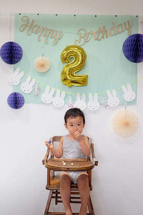 「2歳になりました」です