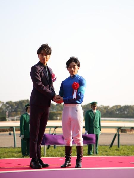 川田将雅騎手 山崎育三郎さん