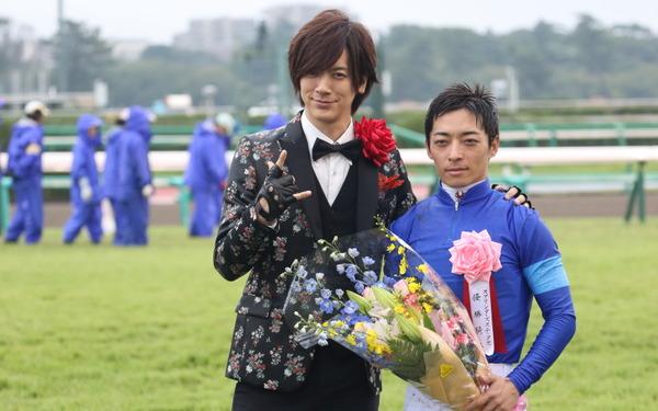 川田将雅騎手 DAIGOさん