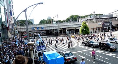 24日上野大き目の遠景