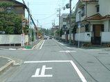 北桜塚3・4丁目交差点に安全標識を設置
