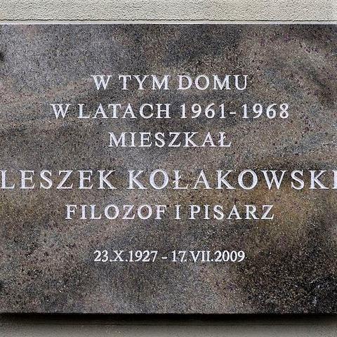 Leszek_Kołakowski_plac_Bankowy_Senatorska_40 (2)