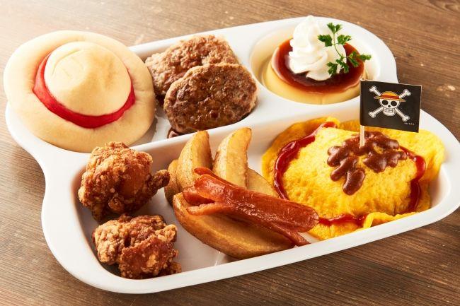「麦わらキッズプレート」1,200円(税込)※サンジのおれ様レストランにて15時以降提供