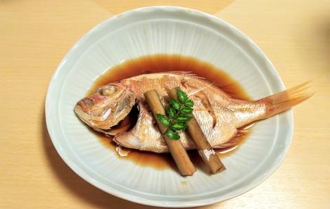 日生 上内 連子鯛の煮付け