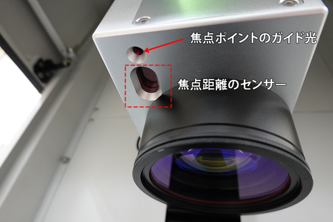 焦点距離センサー