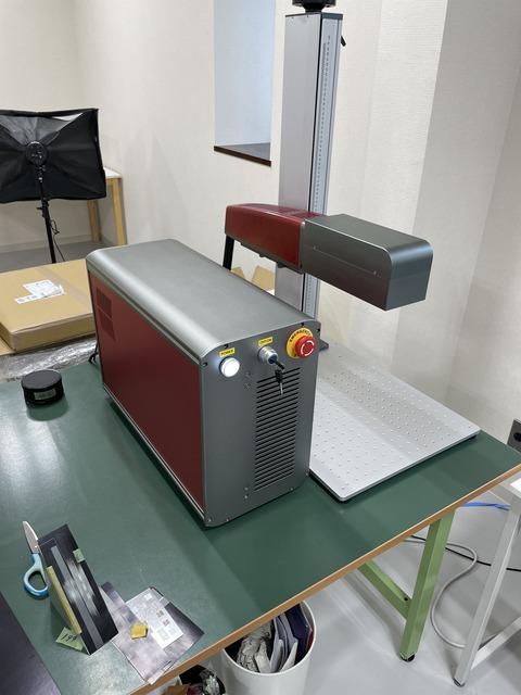 3Dファイバーレーザーマーカー