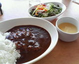 京都レストラン スターのビーフカレー