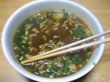カレー麺中身