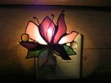 体験教室 お花のフットランプ