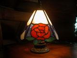 オレンジのバラ ランプ