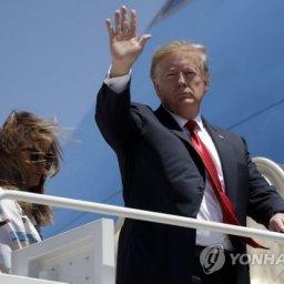 トランプ、東京到着…安倍と11回目の首脳会談、5回目のゴルフ=韓国の反応