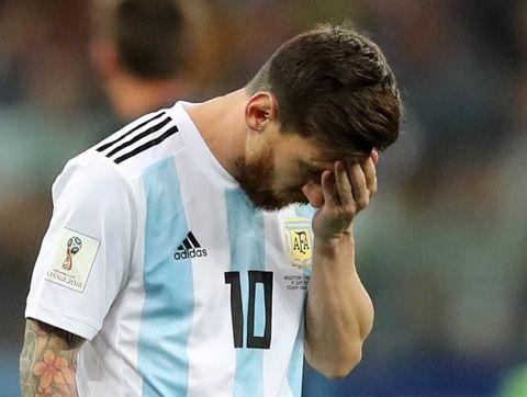 【サッカーW杯】アルゼンチン、クロアチアに大敗で終わるwwwww
