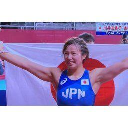 【東京五輪】女子レスリング62kg級金メダルの川井友香子が美人で可愛いと話題に!!!