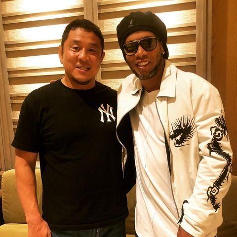 これ永田さんの大ファンのロナウジーニョとかいう人らしい【新日本プロレス2ちゃんねるまとめ】