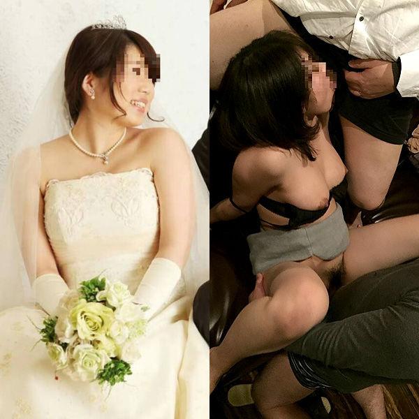 【投稿13枚】まだ新婚なのに・・・旦那に頼まれ他人と乱交SEXする若妻がヤバイwww他人棒に犯されイカされてる妻の姿を見て興奮してる旦那はもっとヤバイなぁwww