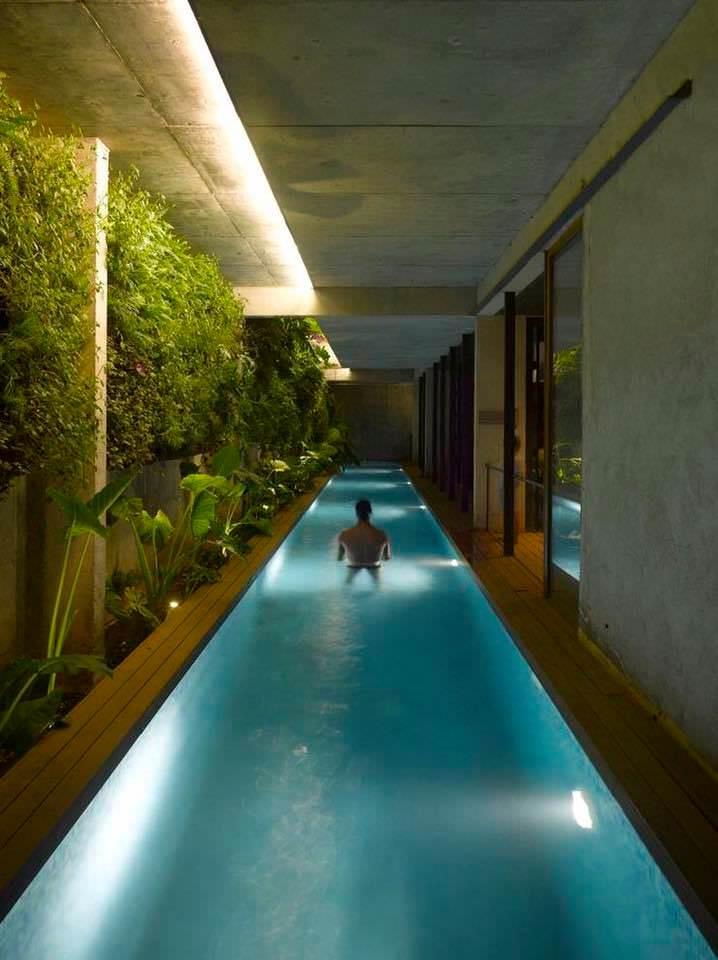 【画像】自宅用プール想像以上にすごくてワロタwwww