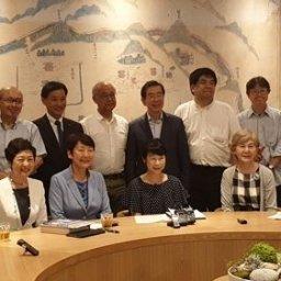 【韓国】日本の市民団体、ソウル市庁を訪問して市長と懇談。市長は「日本の歴史歪曲などの解決に向けて共に歩んできた」と感謝