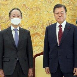 韓国を離れる日本大使に文在寅「日本が最も重要」…態度が軟化した本当の理由=韓国の反応