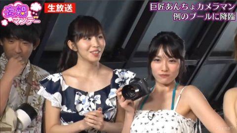 【放送事故】塩地美澄アナ(35)「感じちゃう…」⇒スタジオで乳首をいじられる…(※画像あり)