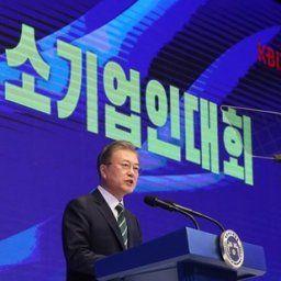 【韓国の反応】ムンジェイン「韓国は成功に向かっている!…統計ではマイナス?統計と現場は違う」→韓国ネット炎上