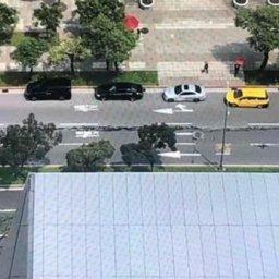 【地震】韓国人「台湾でM.1の地震が発生し、道路がボコボコに裂ける地震被害が発生!」 韓国の反応